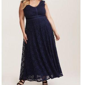 TORRID Lace Maxi Dress Size 3